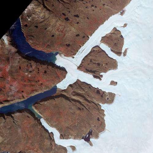 Image: Greenland's Leidy Glacier