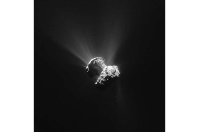 Image: Increasingly active Comet 67P