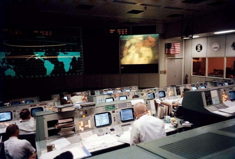 Image: Mission Control, Houston, April 13, 1970
