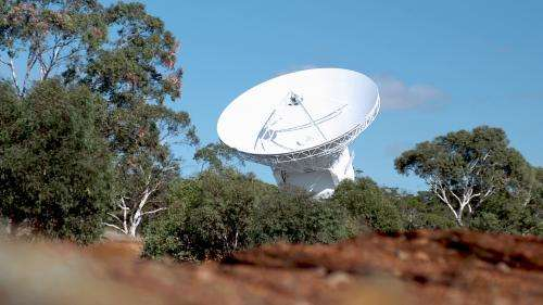 Image: New Norcia deep-space ground tracking station
