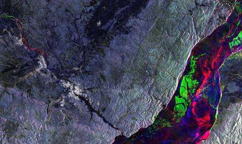 Image: Orbital view of Irkutsk and Lake Baikal