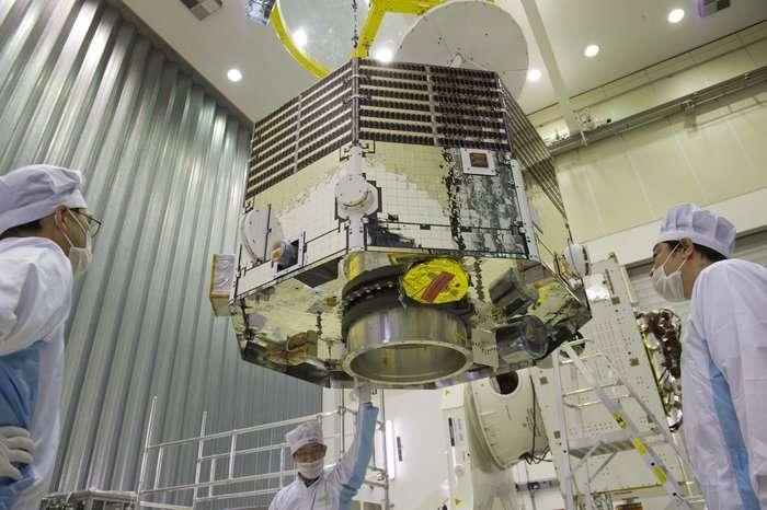 Image: Unboxing Mercury Magnetospheric Orbiter flight model