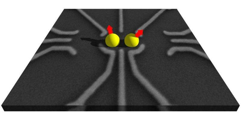 Improved stability of electron spins in qubits