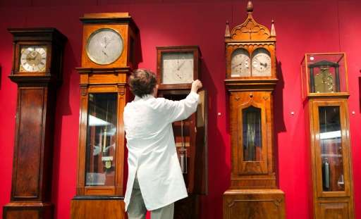 In 1665, the scientist reported observing a strange phenomenon—two clocks hanging from the same structure would start swinging i