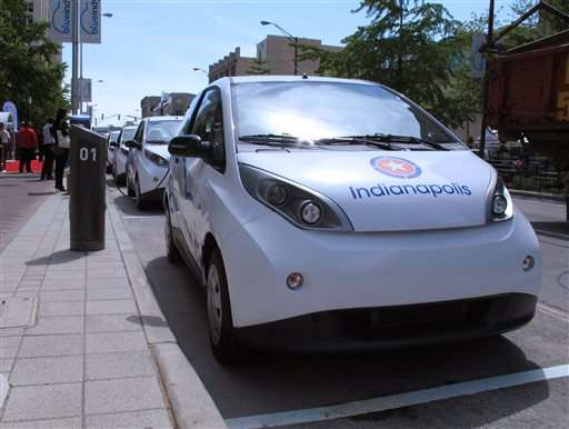 Indianapolis car sharing service launches amid questions