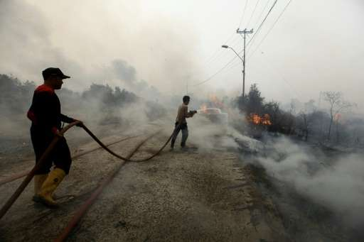 Indonesia this month agreed to accept international help after failing for weeks to douse the fires, and has employed dozens of