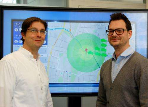 Intelligent algorithm finds available carsharing vehicles