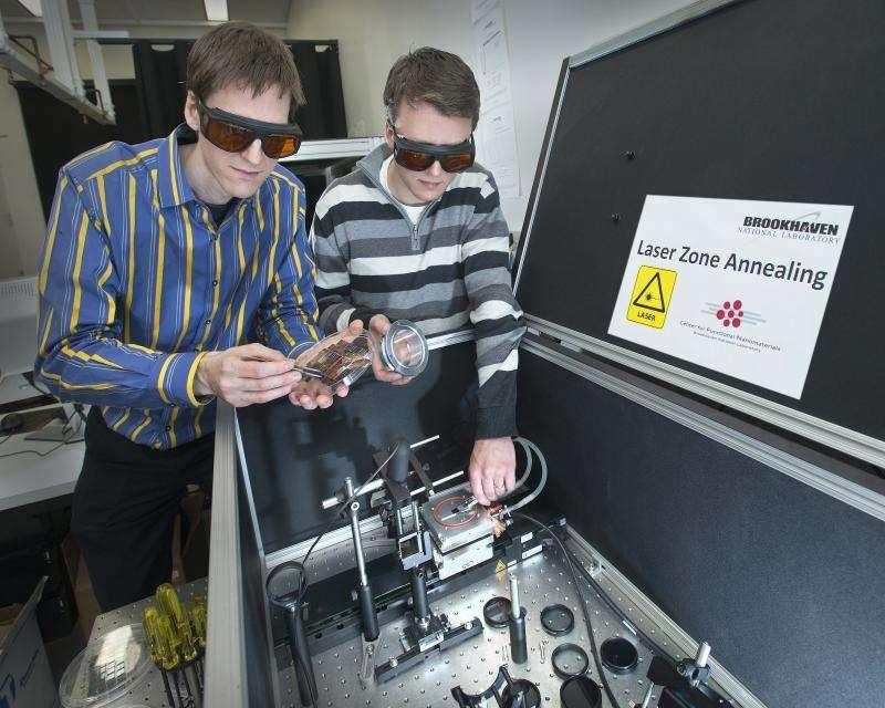 Intense lasers cook up complex, self-assembled nanomaterials