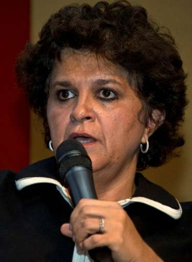 Izabella Teixeira estimates it will take 30 years to clean up the Doce basin in southeast Brazil