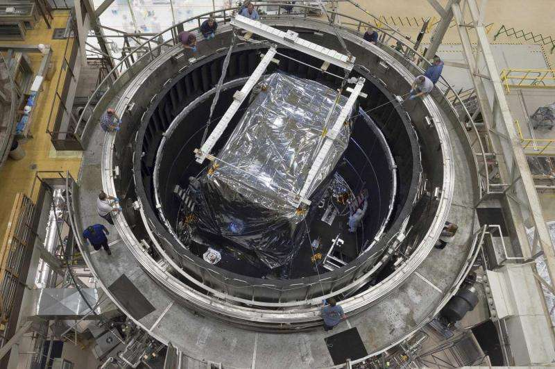James Webb Telescope science instruments begin final super cold test
