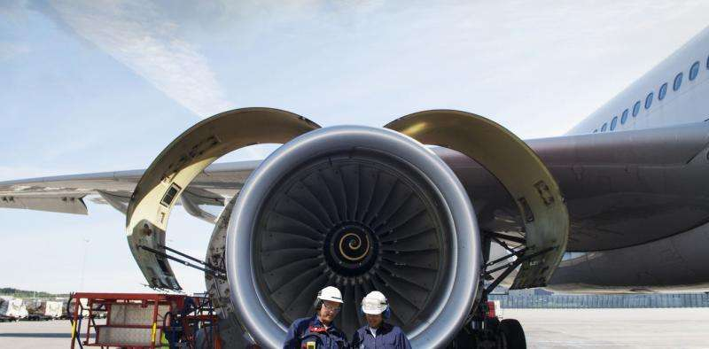 Jet engines are getting quieter