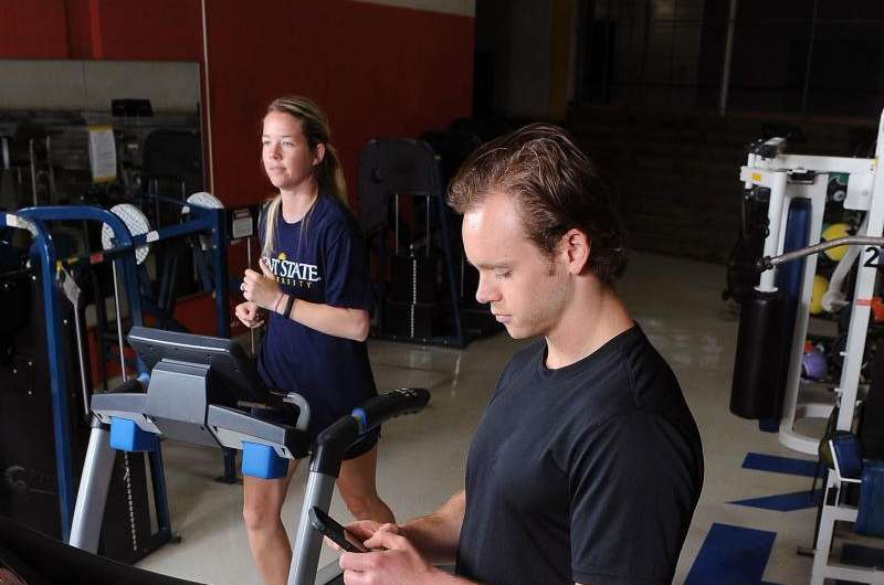 Kent State researchers identify positive, negative effects of smartphone use and exercise
