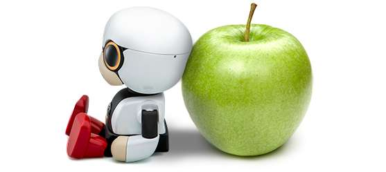 Kirobo Mini robot for drivers part of Toyota Heart Project