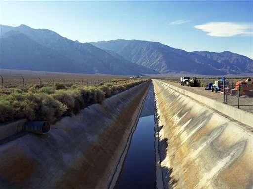 LA Aqueduct flows after dam built for drought is dismantled