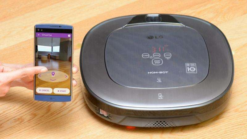 LG to show off robotic cleaner at CES in January