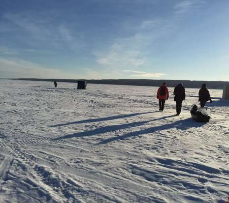 Listening under the ice