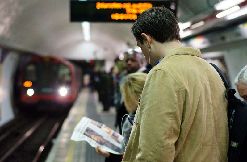 London tube strike produced net economic benefit