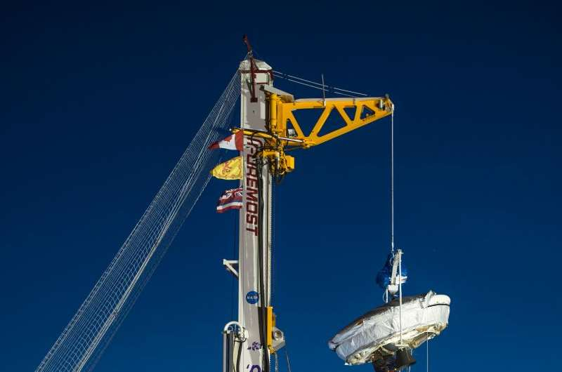 Low-density supersonic decelerator prepared for second flight test
