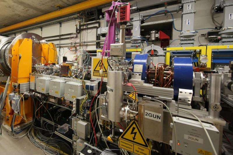Major milestone: First electrons accelerated in European XFEL