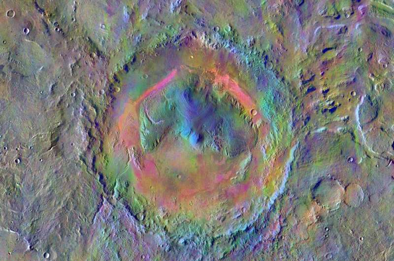 Mars camera makes 60,000 orbits of Red Planet