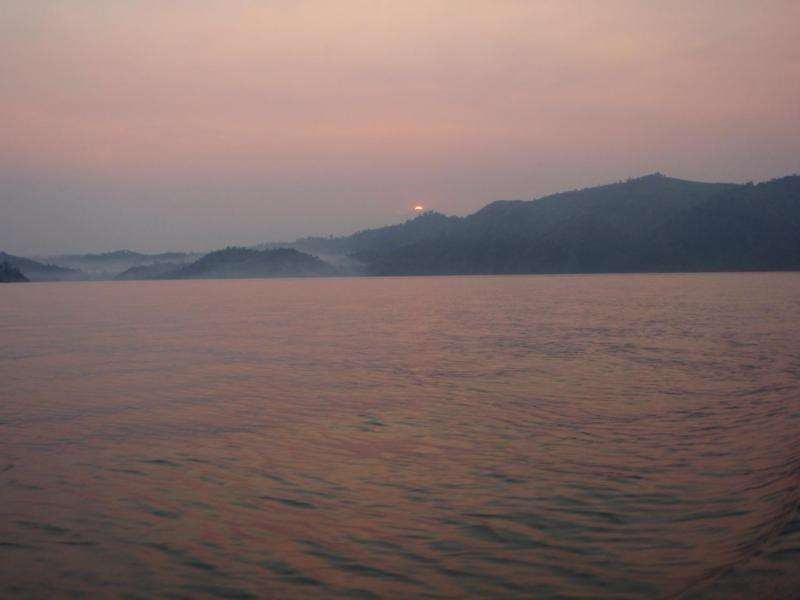Metal-eating microbes in African lake could solve mystery of the planet's iron deposits