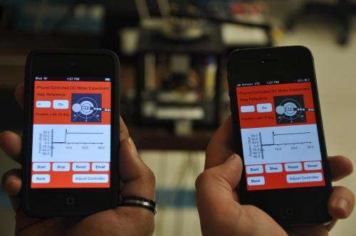 Mobile apps take students into the laboratory