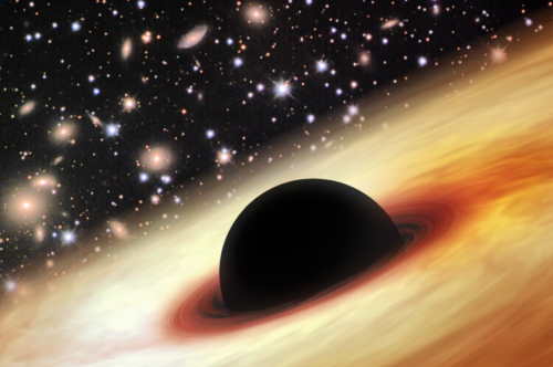 Monster black hole discovered at cosmic dawn