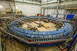 Muon g-2 magnet successfully cooled down and powered up
