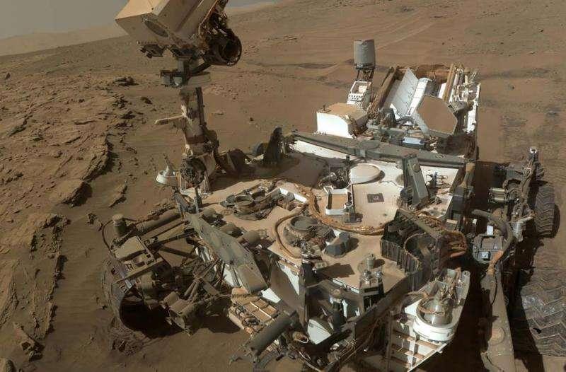 Mystery methane on Mars