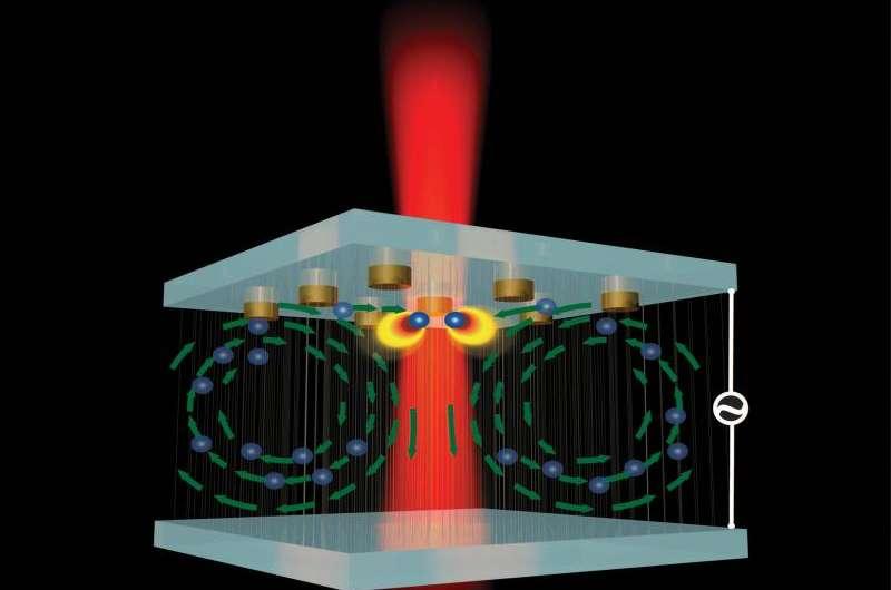Nanotweezer is new tool to create advanced plasmonic technologies