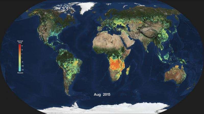 NASA examines global impacts of the 2015 El Nino