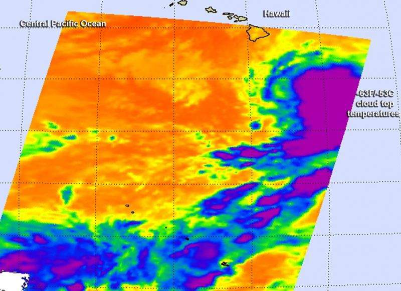 NASA gets Hurricane Oho by the tail