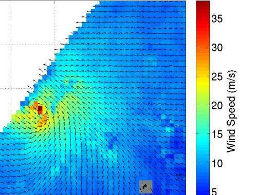 NASA sees Typhoon Maysak weakening