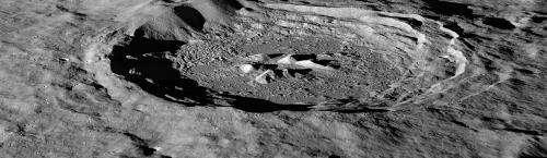 NASA's LRO discovers lunar hydrogen more abundant on moon's pole-facing slopes