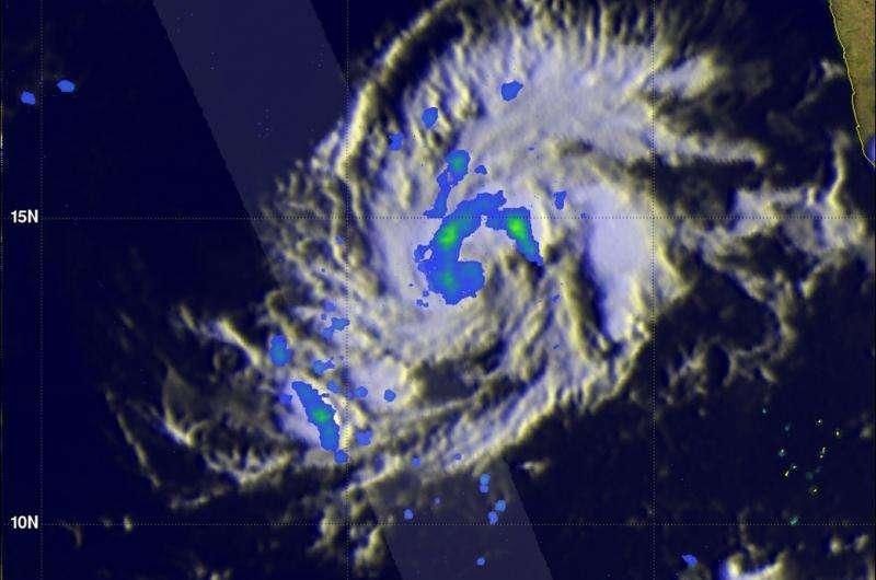 NASA spots another Arabian Sea tropical cyclone forming