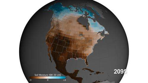 NASA study finds carbon emissions could dramatically increase risk of U.S. megadroughts