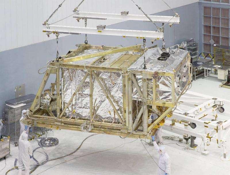 NASA's Webb Telescope science instruments begin final super cold test