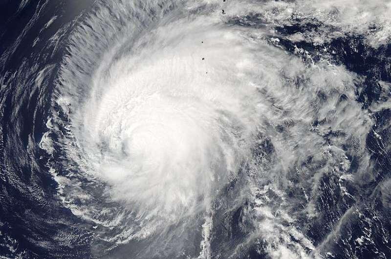 NASA tracks Typhoon Dolphin on approach to Iwo To