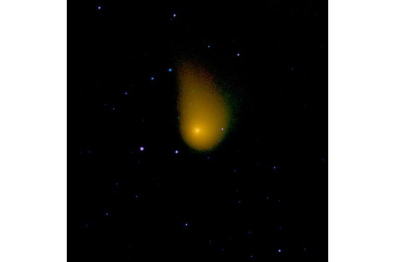 NEOWISE Identifies Greenhouse Gases in Comets