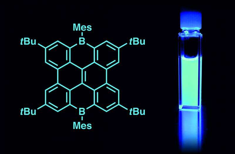 New boron compounds for organic light-emitting diodes (OLEDs)