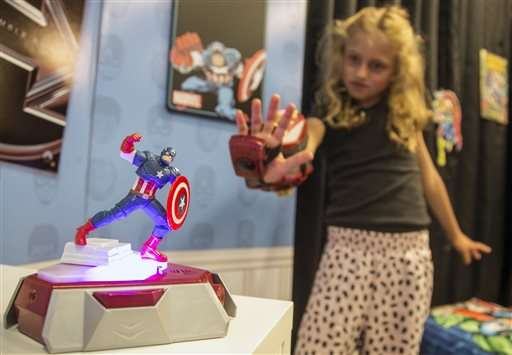 New Disney toys combine high-tech gadgets, old-school play