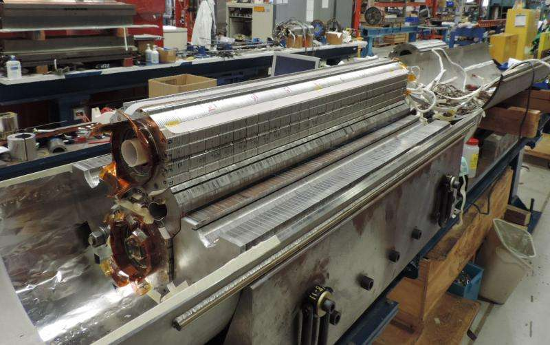 New magnet at Fermilab achieves high-field milestone