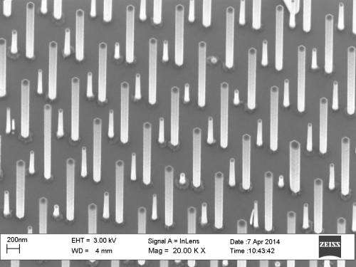 New nanowire structure absorbs light efficiently