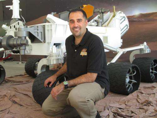New Project Scientist for Mars Rover [rejected]