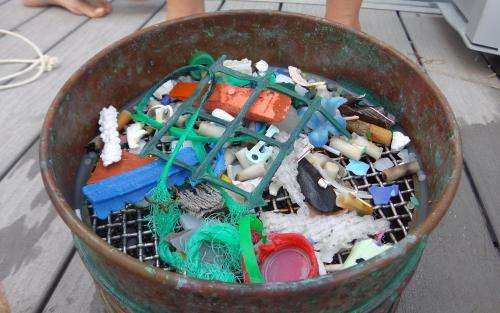 New Science paper calculates magnitude of plastic waste going into the ocean