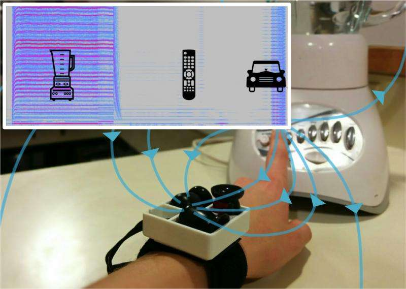 New wearable technology can sense appliance use, help track carbon footprint