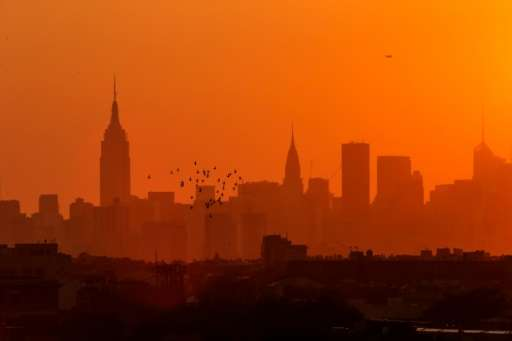 New York City skyline, pictured on September 7, 2015