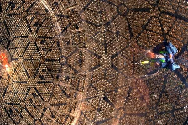 Nobel-winning discovery of neutrino oscillations, proving that neutrinos have mass