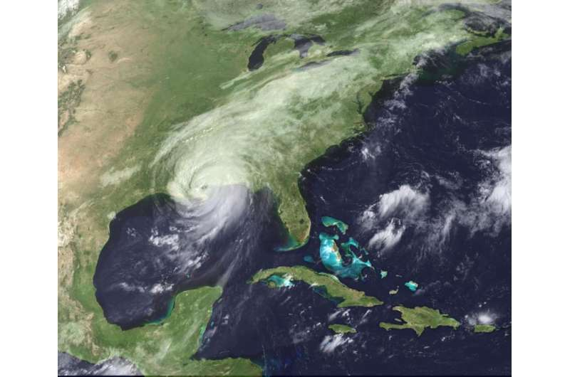No major U.S. hurricane landfalls in nine years
