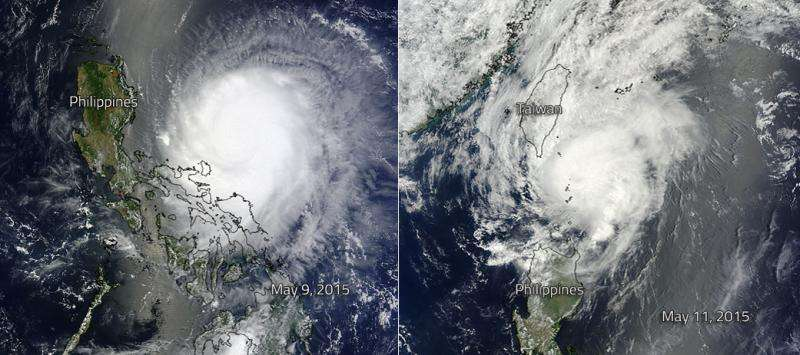 Noul makes landfall in Philippines, thousands flee